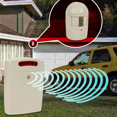 trademark 82 3731 driveway patrol infrared wireless home
