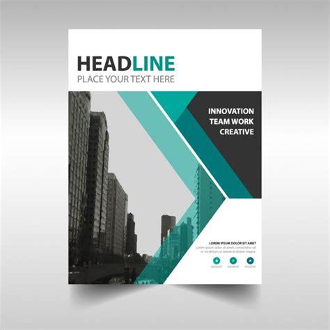 elegant company profile design vert cr 233 atif rapport annuel mod 232 le de couverture du livre