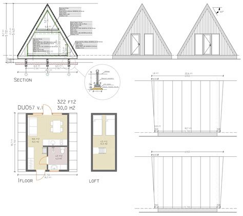 a frame building plans 2018 the a frame house reimagined by avrame