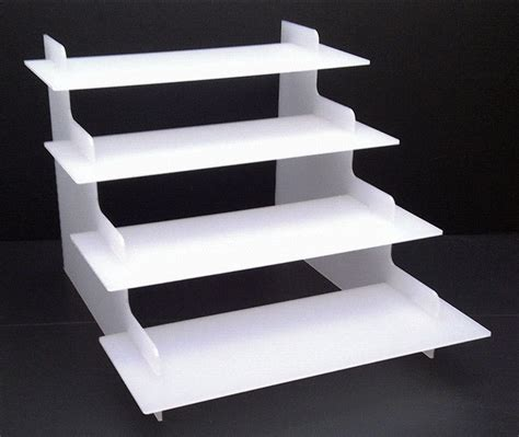 custom clear acrylic stair step display buy acrylic