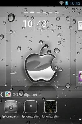 themes for iphone 4s download iphone 4s android theme for go launcher androidlooks com