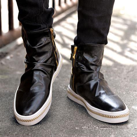 mens fashion boots cheap get cheap mens zipper boots aliexpress