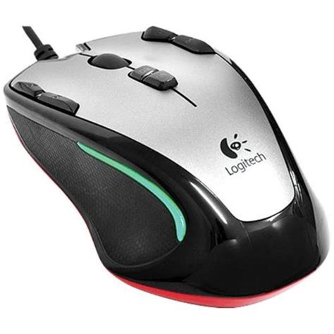 Mouse Gaming Logitech 300s mouse logitech g300 gaming 2500 dpi usb 910 002358
