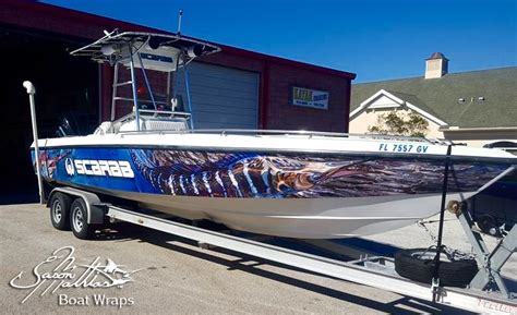 offshore fishing boat wraps jason mathias boat wrap designs
