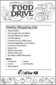 Local Food Pantry List by Healthy Food Drive October 2016 Fort Bragg Library