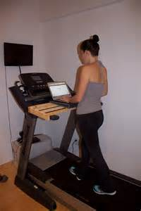 Treadmill Desk Diy Gourmet Runner Diy Treadmill Desk