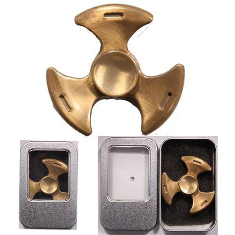 Spinner Blade Gold metal fidget spinner blade gold color at