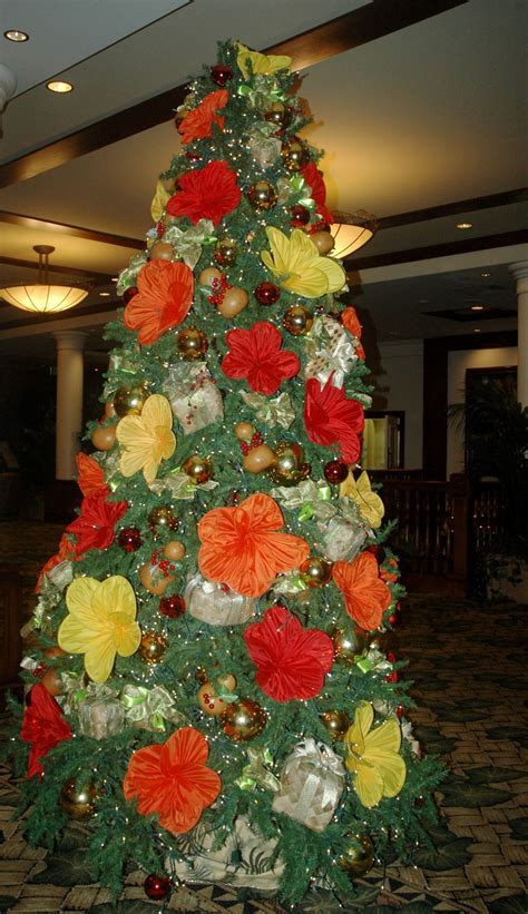 christmas in hawaii themed party at the outrigger hotel in hawaii hawaii hawaii hawaiian and tree