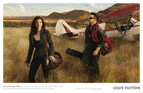 Louis Vuitton Ad by Ali Hewson And Bono In Louis Vuitton S Values