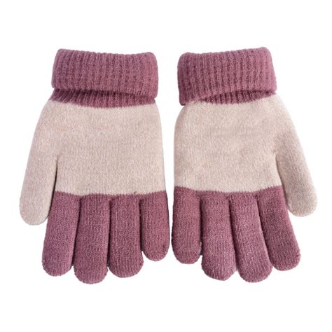 knitting pattern for childrens gloves with fingers winter warm gloves baby boys knitted finger