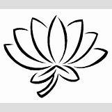 Lotus Flower Black And White Drawing | 500 x 417 jpeg 46kB