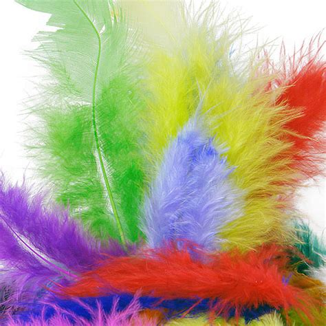 colored feathers colored marabou turkey feathers