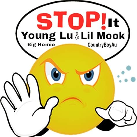 Lu Stop Sein 1 lu lil mook quot stop it quot ft country boyau big homie added by glove