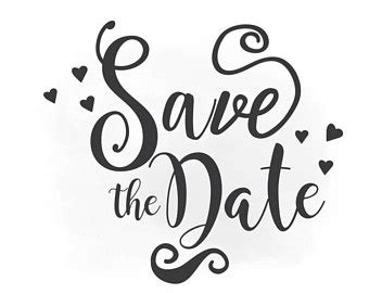 save the date svg clipart wedding arenawp