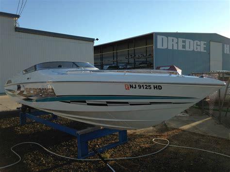 scarab boats twin engine wellcraft scarab 29 powerboat go fast boat twin mercruiser