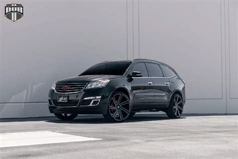 Chevrolet Wheels by Add Some Style To The Chevy Traverse With Dub Wheels