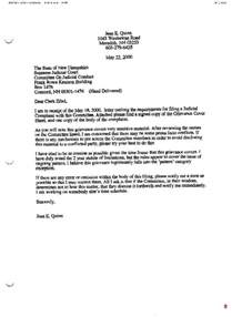 Employment Grievance Letter How To Write A Grievance Letter