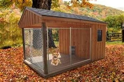 dog house with kennel 25 dog house ideas for your loving pet