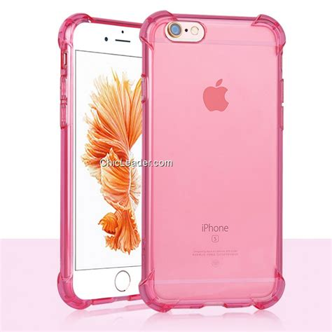 Iphone 6 Plus 5 5inc Air Michael Casing shockproof air cushion clear soft tpu for iphone 6 plus 6s plus 5 5 inch chicleader