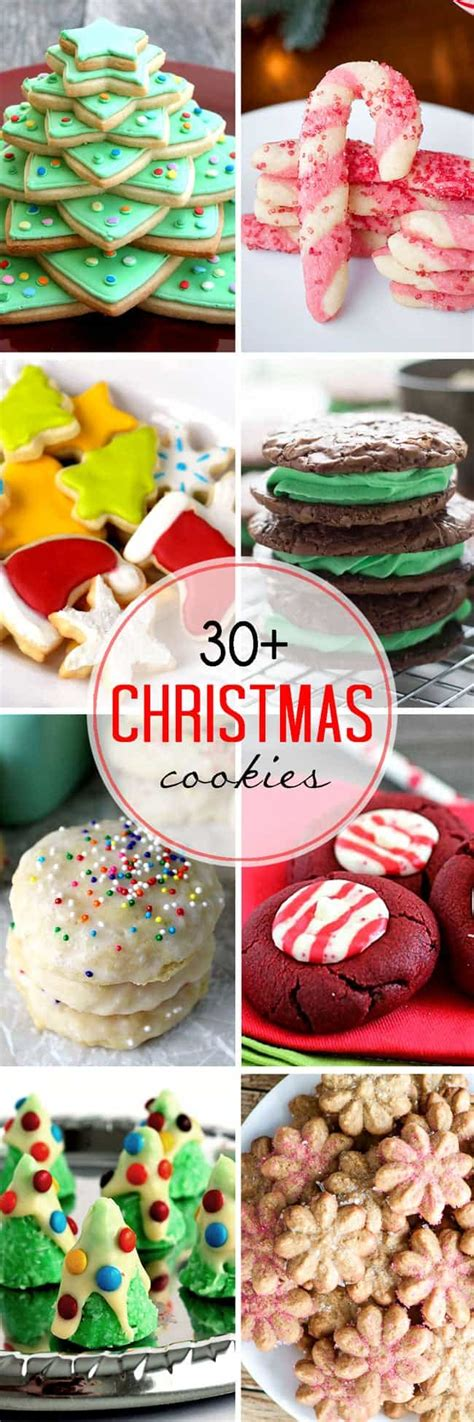baking ideas for christmas and what to bake 30 easy cookies lemonsforlulu