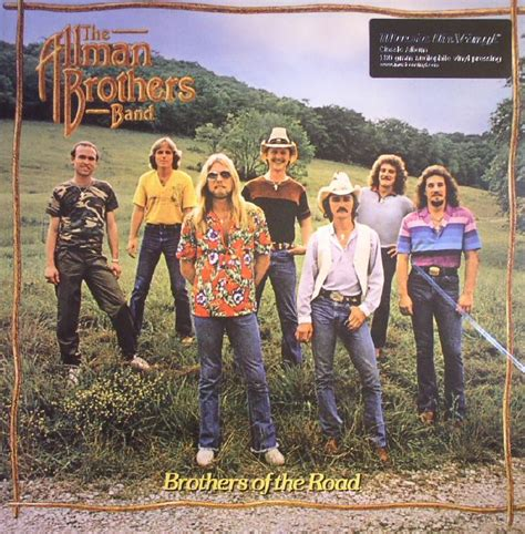 road brothers allman brothers band the brothers of the road vinyl lp ebay