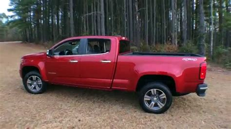 Best Detailed Walkaround 2015 Chevrolet Colorado 4wd Lt