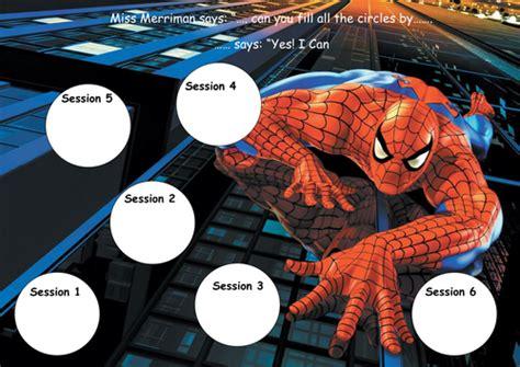 printable reward charts spiderman spiderman reward chart and stickers by missehill
