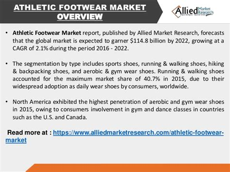 athletic shoes market athletic footwear market trends forcast 2022