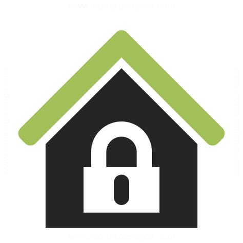 home lock icon iconexperience professional icons 187 o
