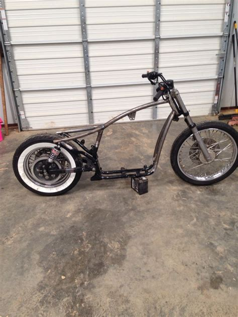 Modified Bobber by Modified Evo Sportster Frame Done At Quot The Raging Quot In