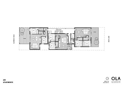 ola residences floor plan gallery of ari apartments ola studio 11