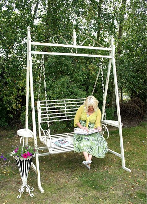 metal garden swing lady susanna garden swing bench black country metal works