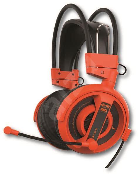 E Blue Cobra Gaming Headset Orange Ehs013og Murah e blue cobra hs orange headset alzashop