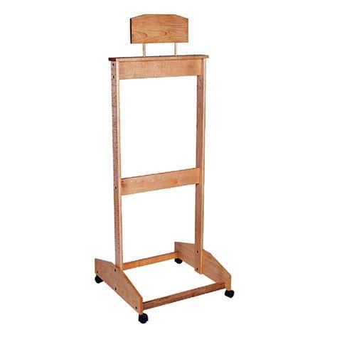 wooden adjustable shelf rack trio display