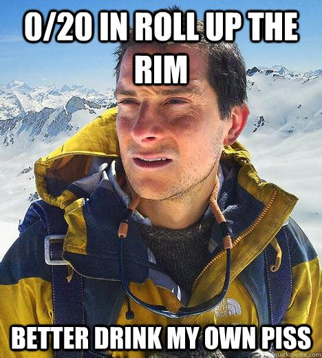 Piss Memes - 0 20 in roll up the rim better drink my own piss bear