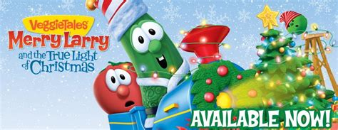 veggietales quot merry larry and the true light of christmas