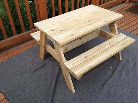 childs picnic bench kids picnic table