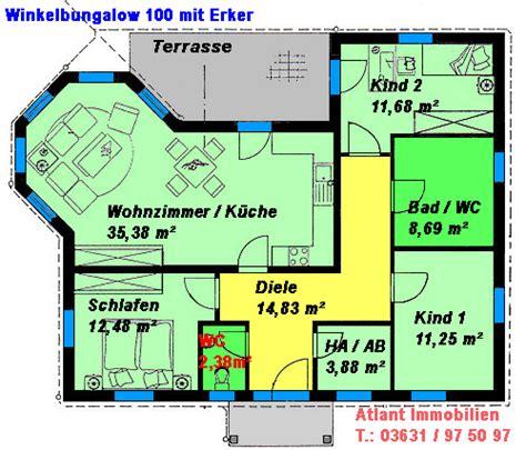 Bungalow Kosten Neubau by Winkelbungalow 100 Mit Erker Einfamilienhaus Neubau