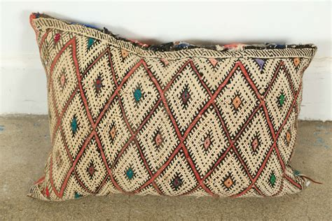 moroccan throw rugs moroccan tribal rug throw pillows at 1stdibs