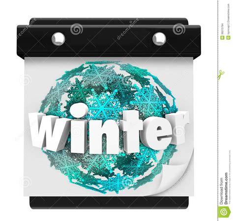 When Calendar Winter Starts Winter Snowflake Background Calendar Page Start Season