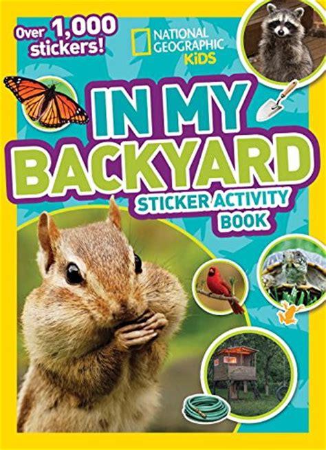 backyard books in the backyard books the crafting chicks