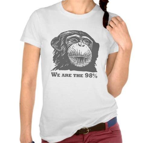Surf Shirt Meme - we are the 98 human vs chimp dna funny meme t shirt