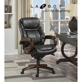 Costco Executive Office Chair by La Z Boy Kendrick Executive Office Chair