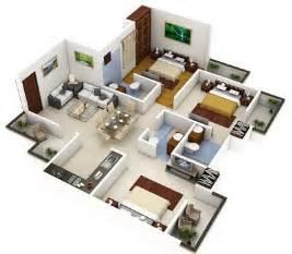 plano de casa de dos pisos peque 241 a fachada e interiores
