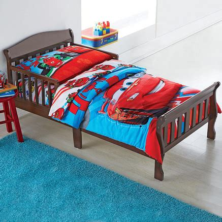 disney cars toddler bed set disney 174 cars 174 5 piece toddler bedding set sears canada