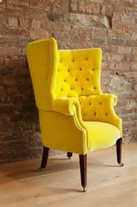 Velvet Arm Chair Best 25 Yellow Chairs Ideas On Pinterest