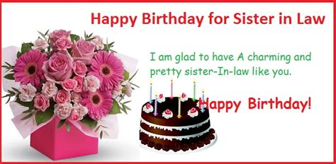 Happy Birthday Quotes For In Happy Birthday Quotes For Sister In Law Happybdwishes