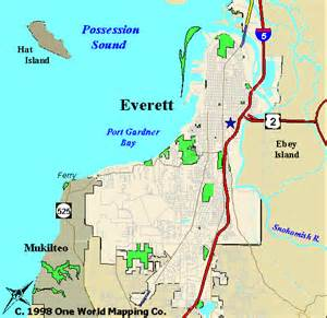 seattle map everett map of south everett wa pictures to pin on pinsdaddy