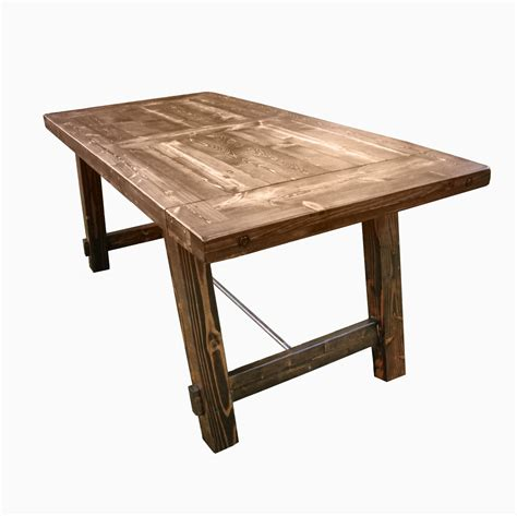 Harvest Dining Tables Buy A Custom Country Harvest Dining Table Made To Order From Custom Made Furniture Custommade