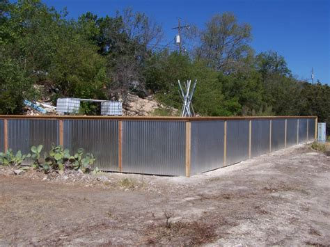 Residential Blueprints Best Corrugated Metal Privacy Fence Ideas Peiranos